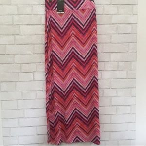 Maxi Skirt in Bright Colors